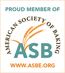 Proud member of American Society of Baking