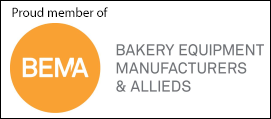 Proud member of Bakery Equipment Manufacturers & Allieds